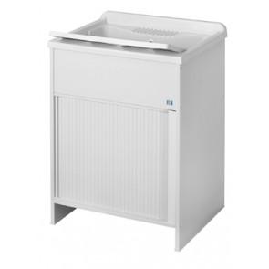 Lavatoio per esterno con anta a serrandina 60 x 60