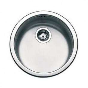 Lavello sottopiano circolare APELL acciaio spazzolato diametro 435 mm