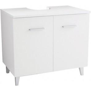 Mobiletto copricolonna bianco 70 x 62 x 45