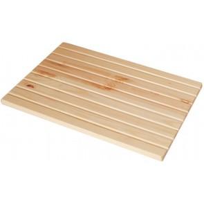 Tavoletta strizzatoio in pino verniciato per pilozzo cm 60 x 45/50/60