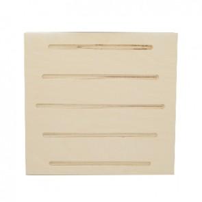 Tavoletta in legno x piloz ticino-garda 34,5x31