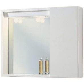 Specchiera mod. agamennone bianca 1 anta liscia 60,5 x 16 x 72