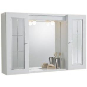 Specchiera mod. paride bianca 2 ante a specchio 60,5 x 16 x 94,5