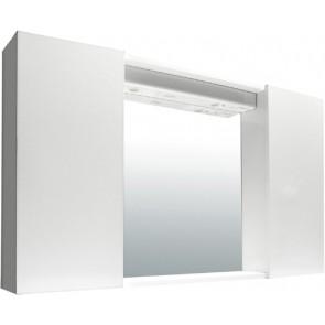 Specchiera mod.susy bianca 2 ante lisce 60.5x16x94.5