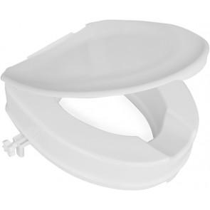 Ciambella universale rialzata con coperchio victor bianco