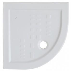 Piatto doccia angolare in ceramica althea 80 x 80 h 5.5