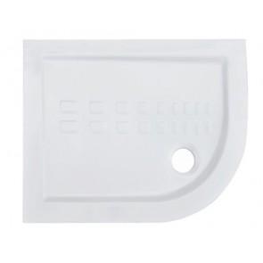 Piatto doccia semicircolare con curva althea 72x90 h5.5 sx
