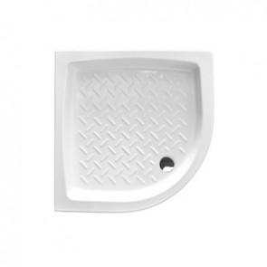 Piatto doccia angolare in ceramica althea h. 11 cm 80x80