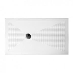 Piatto doccia rettangolare up h. 3 cm cm 80x100