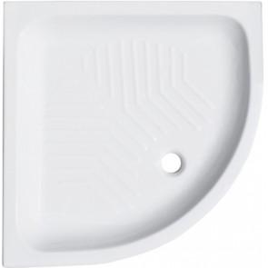 Piatto doccia angolare in ceramica linea cc cm 80 x 80 h 11