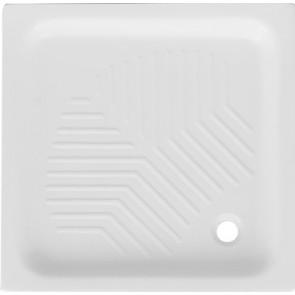 Piatto doccia quadro in ceramica dianflex cm 75x75 h 10