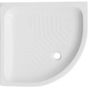 Piatto doccia angolare in ceramica dianflex cm 80x80 h 11
