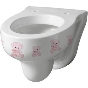 Vaso infanzia sospeso orsetta bianco