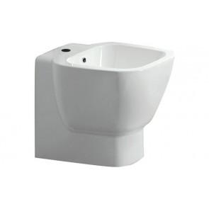 Bidet one/lotus filo muro erogazione rubinetto