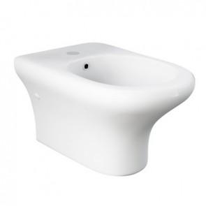 Bidet sospeso compact/ninfea erogazione rubinetto