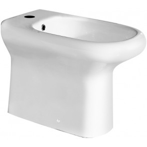 Bidet filo muro compact/ninfea erogazione rubinetto
