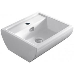 Lavabo d' appoggio uka cm 39.7 x 45 althea bianco