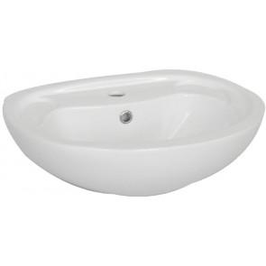 Lavabo a parete cm 40 x 50 bianco