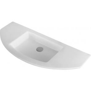 Lavabo a parete mod. lp90 cm 96.5 x 42.5 bianco