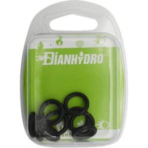 Pz. 10 anelli di tenuta o - ring per flessibile monoforo blister pz. 10 diam. mm 6