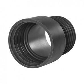 Riduzione in gomma nr nera d. 75 diam. int. f 80 mm