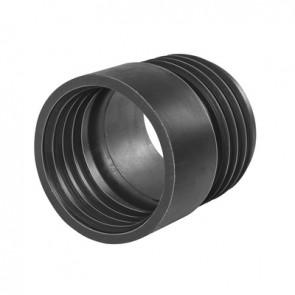 Manicotto riduzione in gomma nr nera d. 80 diam. int. f 75 mm
