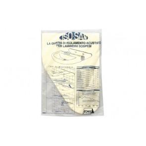 Protezione acustica per lavabo sospesi spessore 5 mm