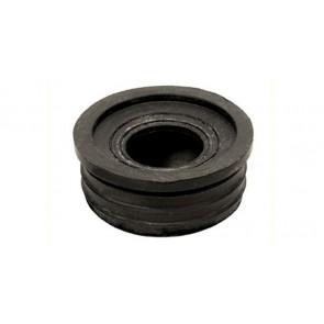 Morsetto gomma nera 32 x 26 mm