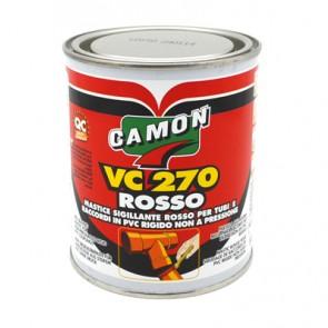 Sigillante camon in barattolo vc 270 rosso 500 gr