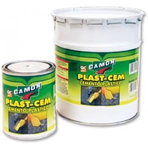 """Cemento plastico """"plast-cem"""" per riparazioni nero 1 kg"""