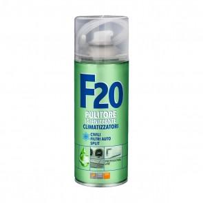 """Pulitore igienizzante per climatizzatori """"f20"""" 400 ml"""