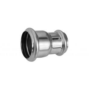 Giunzione per tubi in ottone con o-ring diam. 40-32