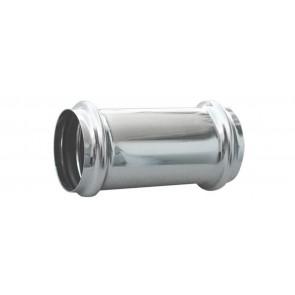Giunzione per tubi in ottone con 2 o-ring diam. mm. 40