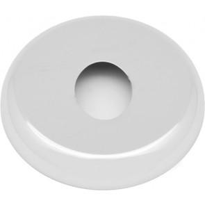 Rosone gigante foro ovale dm. est. 110 cromato diam. 30