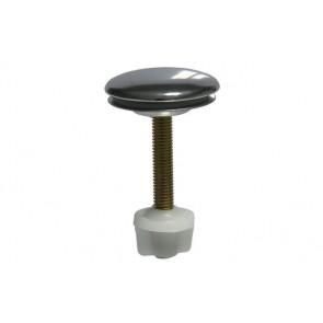 Copriforo per lavabo in ottone tipo pesante cromo