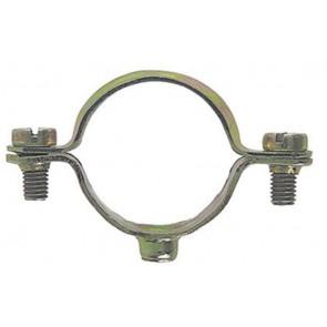 Collare in acciaio fischer per tubo mm. 24