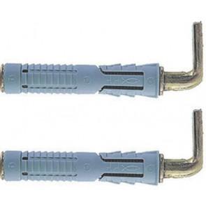 Elementi di fissaggio fischer per scaldabagni pfs diam. 12