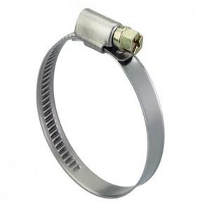 Fascetta inox stringitubo per tubi flessibili 110-130 mm