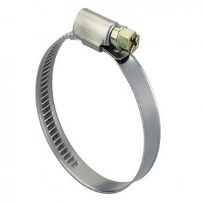Fascetta inox stringitubo per tubi flessibili 40-60 mm