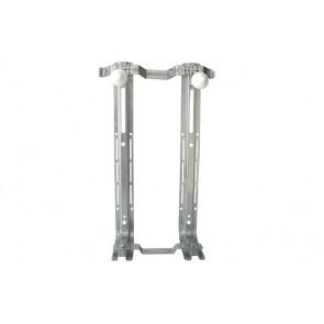 Staffa di fissaggio componibile per vasi e bidet sospesi interasse 160-230 mm.