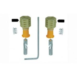 Kit di fissaggio rapido per installazione laterale