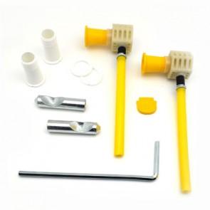 Kit di fissaggio rapido per installazioni dal basso