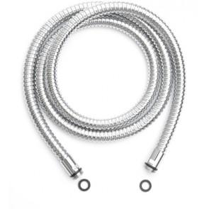 Flessibile doccia doppia aggraffatura m 3/8 x m 3/8 cm 150