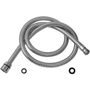 Flessibile doccia doppia aggraffatura 1/2 f x 3/8 m cm 120