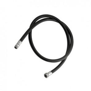 Flessibile in nylon nero m15x1 - 3/8f cm 120