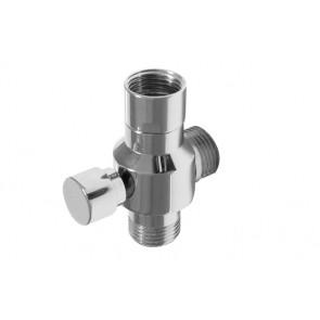 Supporto per doccia con deviatore fmm cromo 1/2x1/2x1/2