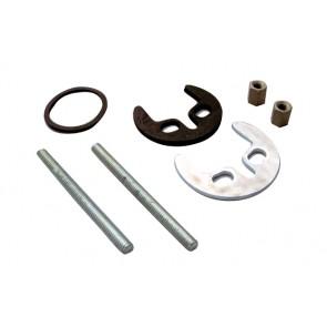 Kit di fissaggio per rubinetteria monocomando