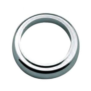 Basetta in abs per miscelatore lavabo nilo/reno cromo mm 51 x 32 x 5,5