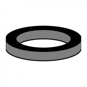 Cfz 10 pz guarnizioni in gomma per cartuccia interna m24 - 15 x 21,3 x 2,8 mm
