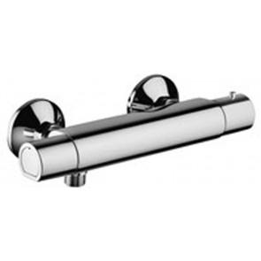 Miscelatore termostatico per doccia esterno equo star new cromo